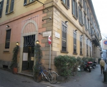 A nice typical restaurant in Milan center
