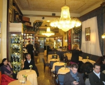 A very old Milanese Pastry and Tea house