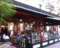 A typical brasserie in the 14ème arrondissement