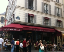 A typical french brasserie in the heart of Saint Germain