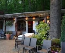 The charming and bucolic restaurant