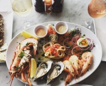 Seafood in Howth
