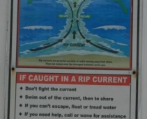 Beach Safety Information - Rip currents