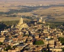 Beautiful fortified town near Madrid