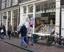 Shop in the center of Amsterdam