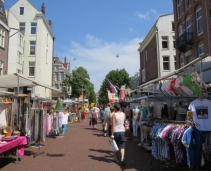 Probably the most famous market of Amsterdam