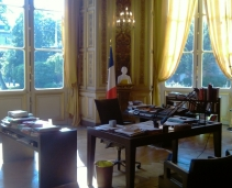 French Foreign Affairs: only opened for visits on the 3rd Week end of September