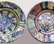 Original ceramic objects of Horezu